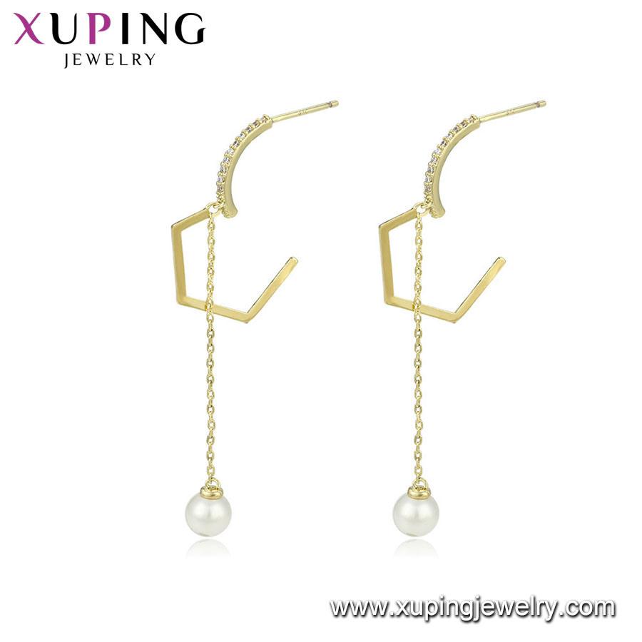 b71e4b24b China Pearl Gold Earrings Nepal Jewelry Wholesale - China Jewelry ...
