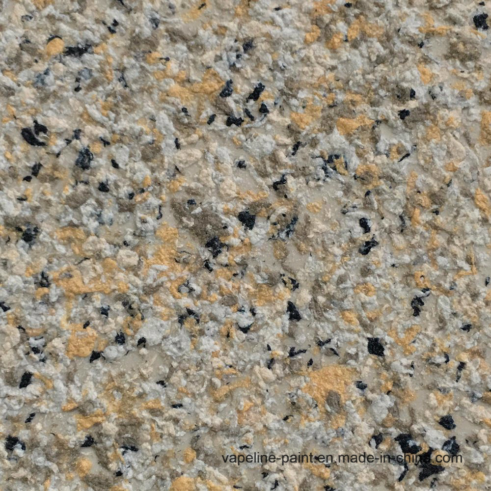 Hot Item Granite Effect Texture Liquid Granite Stone Spray Paint For Exterior Wall
