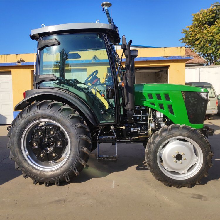 [Hot Item] Good Quality Agriculture Use 80HP Farm Tractor Can Choice Metal  Tractor Seats