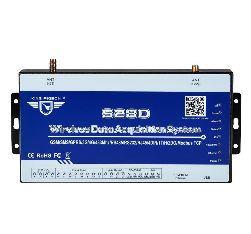 [Hot Item] Wireless Lora Gateway for PLC Data Acquisition Via RS485 Serial