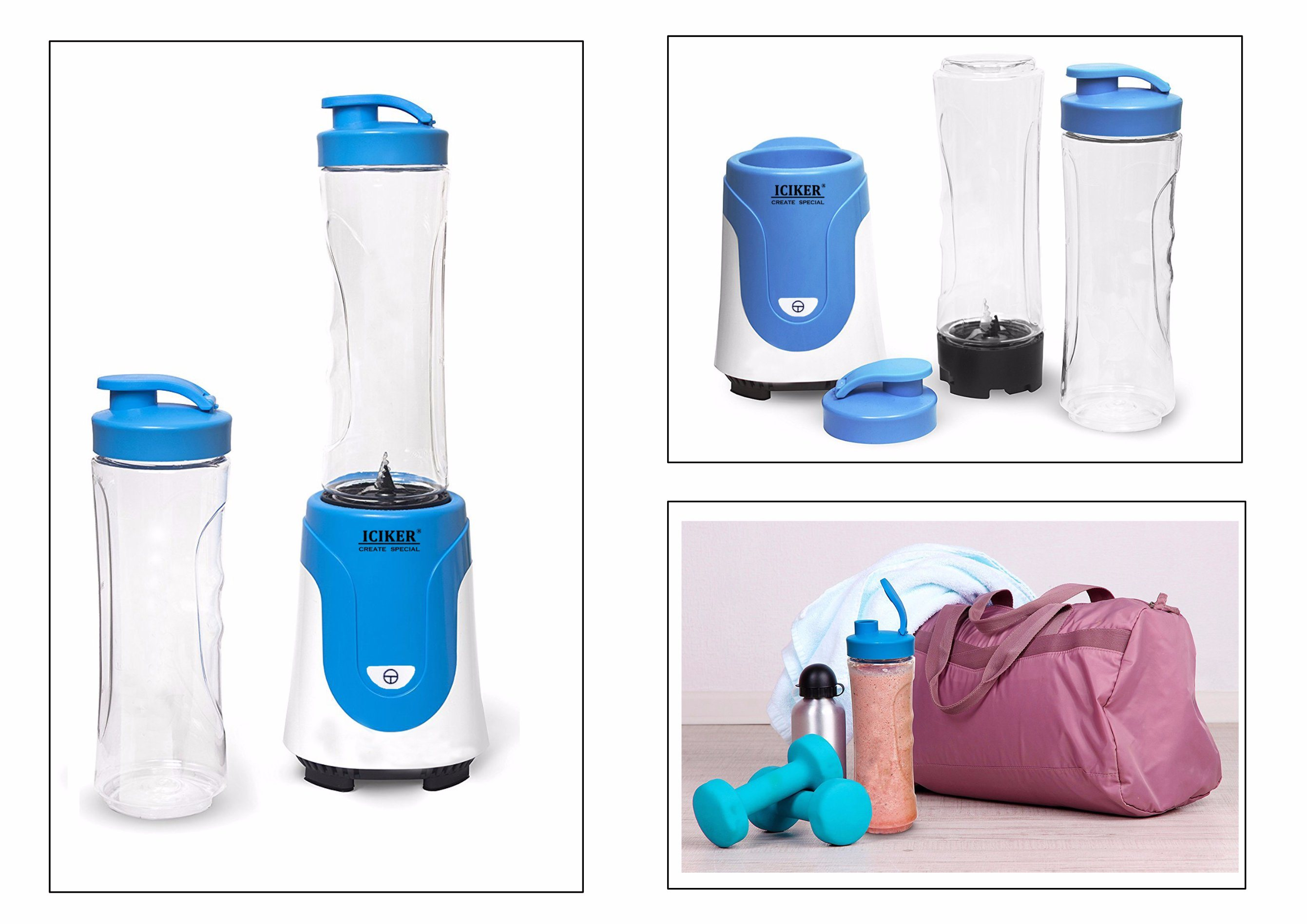 Personal Blender with BPA-Free Go Cup