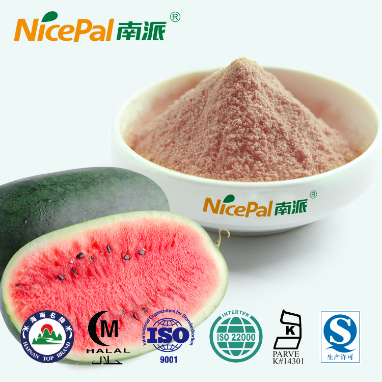 Fresh Watermelon Plant Extract Watermelon Fruit Juice Powder From China Factory