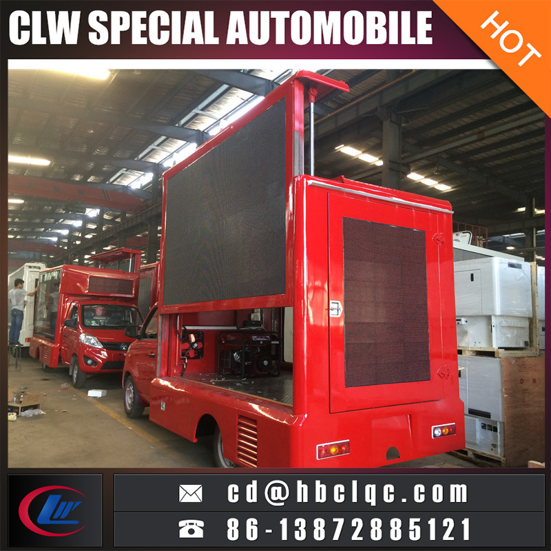 China Small Size LED Mobile Stage Truck Mobile LED Display