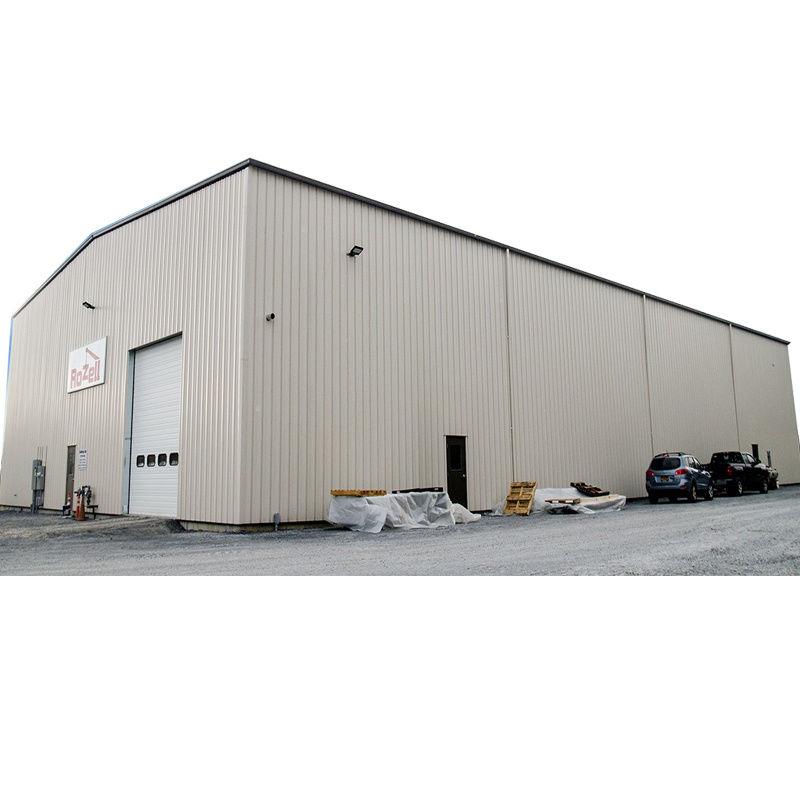 China Low Cost Prefab Light Metal Frame Building Prefabricated Steel Structure Warehouse Price