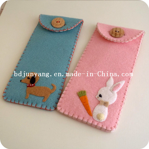 Funny Felt Pencil Bag for Girls pictures & photos