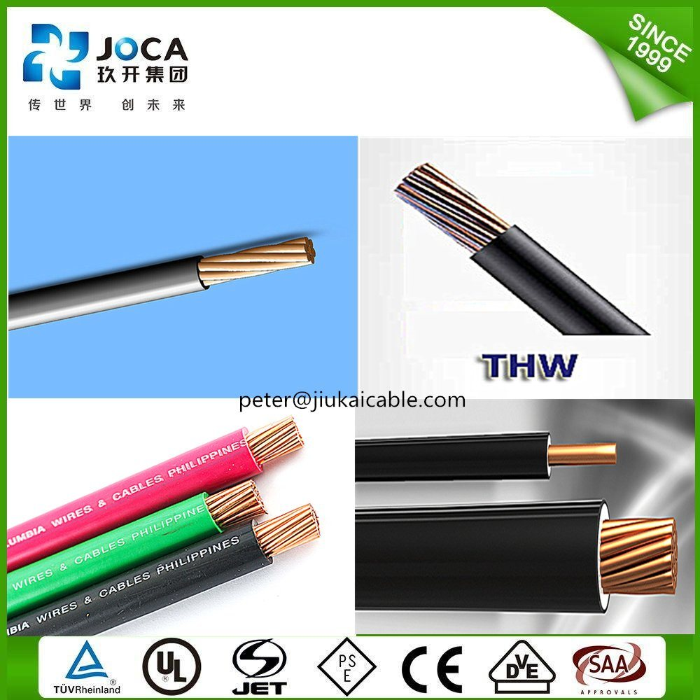 China High Quality Thw Stranded Flexible Copper Wire - China Thw ...