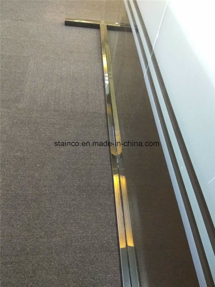 304 Stainless Steel Laminate Flooring Transition Strips