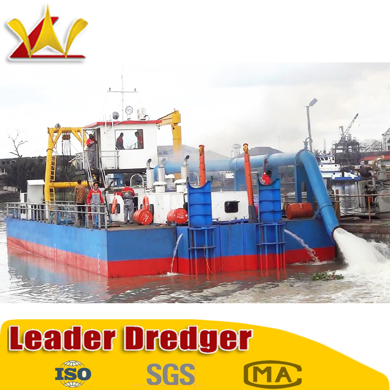 China Hige Cost Low Price Sand Cutter Scution Dredger/Dredge
