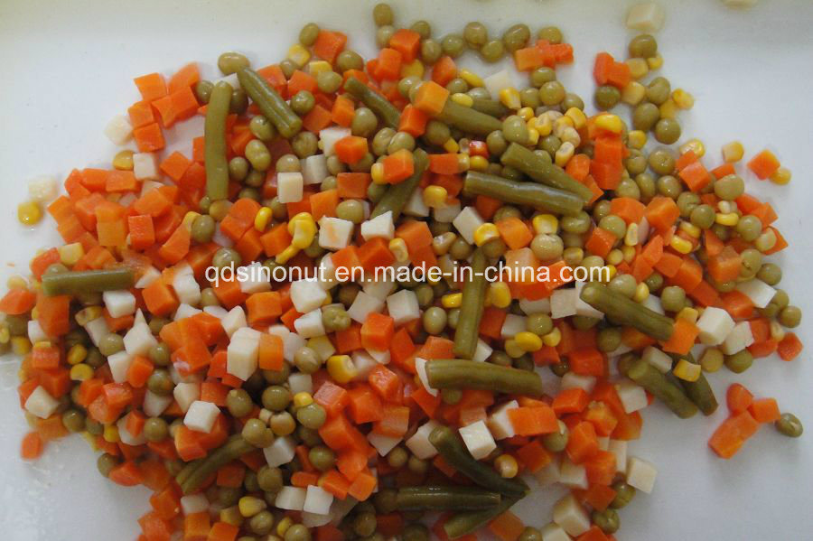 New Crop Fresh Material Canned Mixed Vegetables