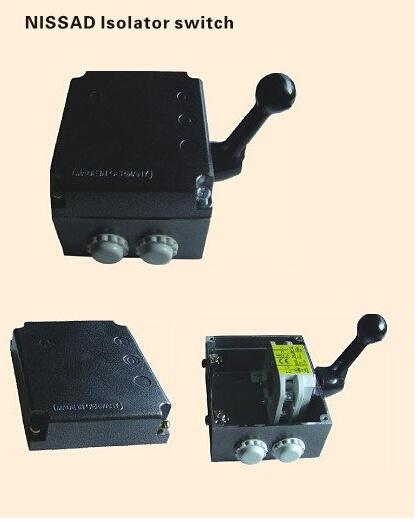 China IP55 Nissad Isolator Switch