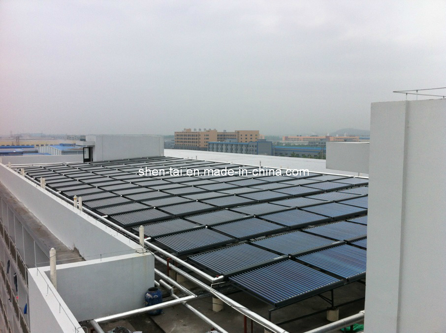 China Low Pressure Solar Collector Hot Water Central Heating System ...
