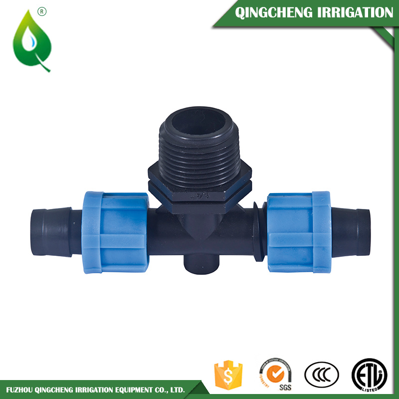 Practical Agriculture Plastic Irrigation Micro Fitting PVC Tee pictures & photos