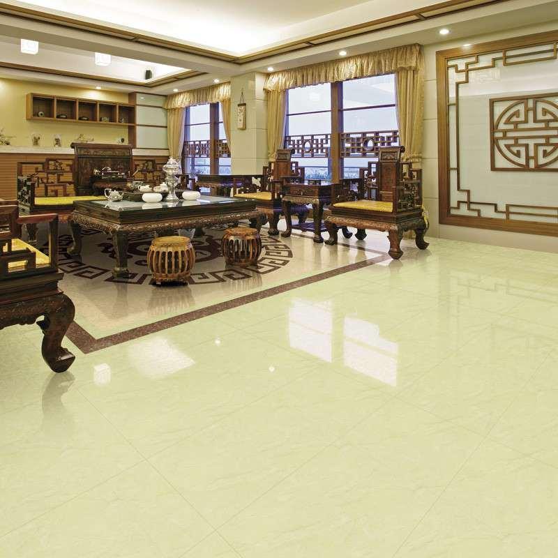 China Glazed Polished Tile Floor Tile For Living Room Bathroom
