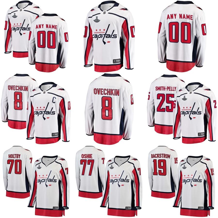 China Washington Capitals White 2018 Stanley Cup Champions Away Breakaway  Hockey Jerseys - China Alexander Ovechkin Jerseys 38abec4e2