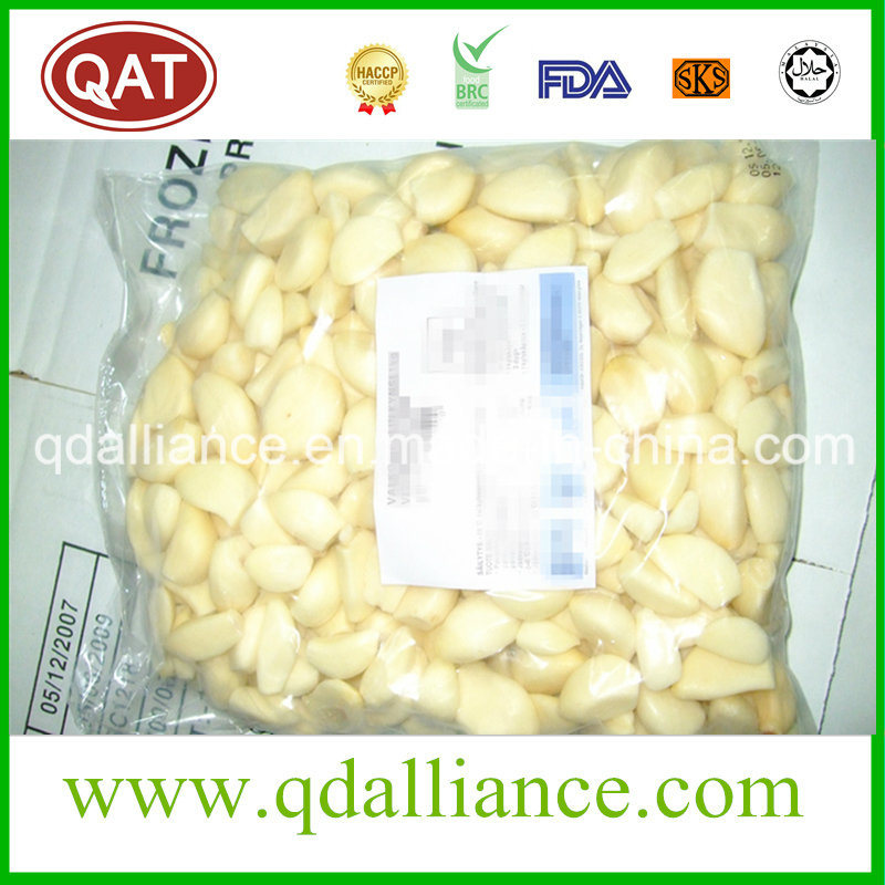 IQF Frozen Peeled Garlic with Good Price Kosher Certified pictures & photos