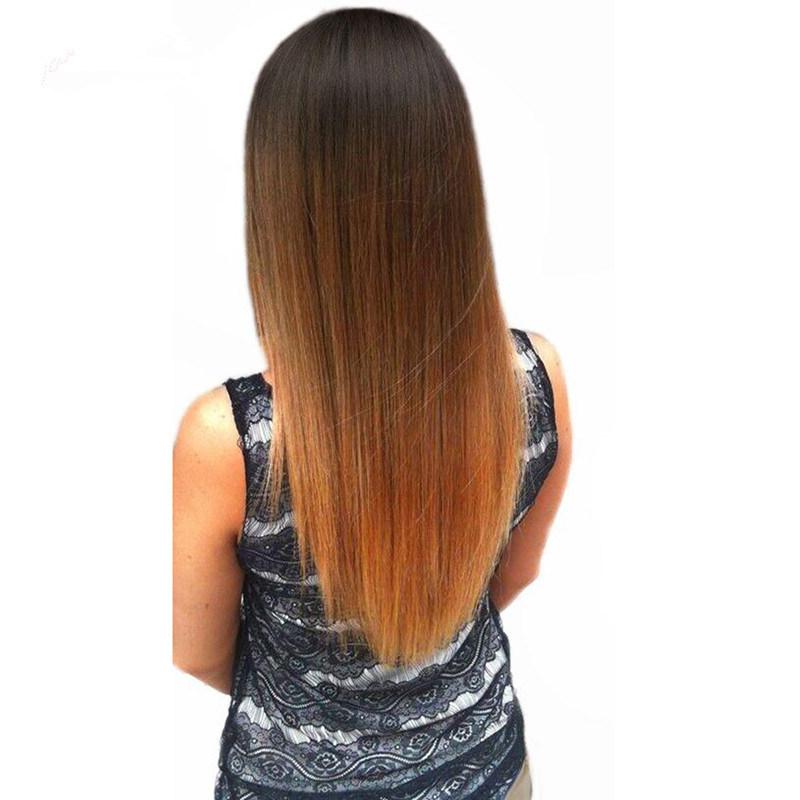 China Brazilian Hair Straight Women Hair Weave Color 1b30 100