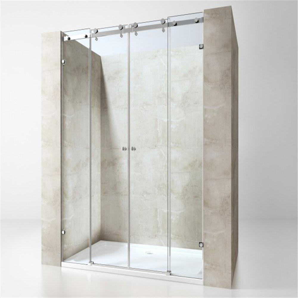 China Hot Sale Tempered Glass Frameless Sliding Shower Door for ...
