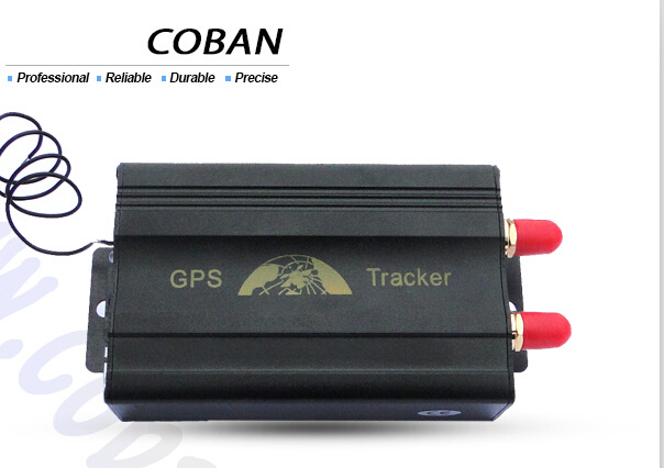 [Hot Item] GPS SIM Card Vehicle Tracker Tk103A GSM SMS GPRS Tracking with  Relay to Shut off Car Engine Remotely