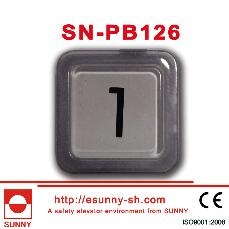 Plastic Elevator Push Button for Otis (SN-PB126)