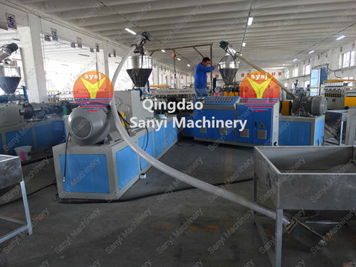 PVC Foam Sheet/WPC Board Machine pictures & photos