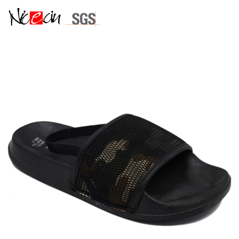Summer Beach Mens Casual Summer Elastic Sandals Shoes Outdoor Anti-slip Slippers