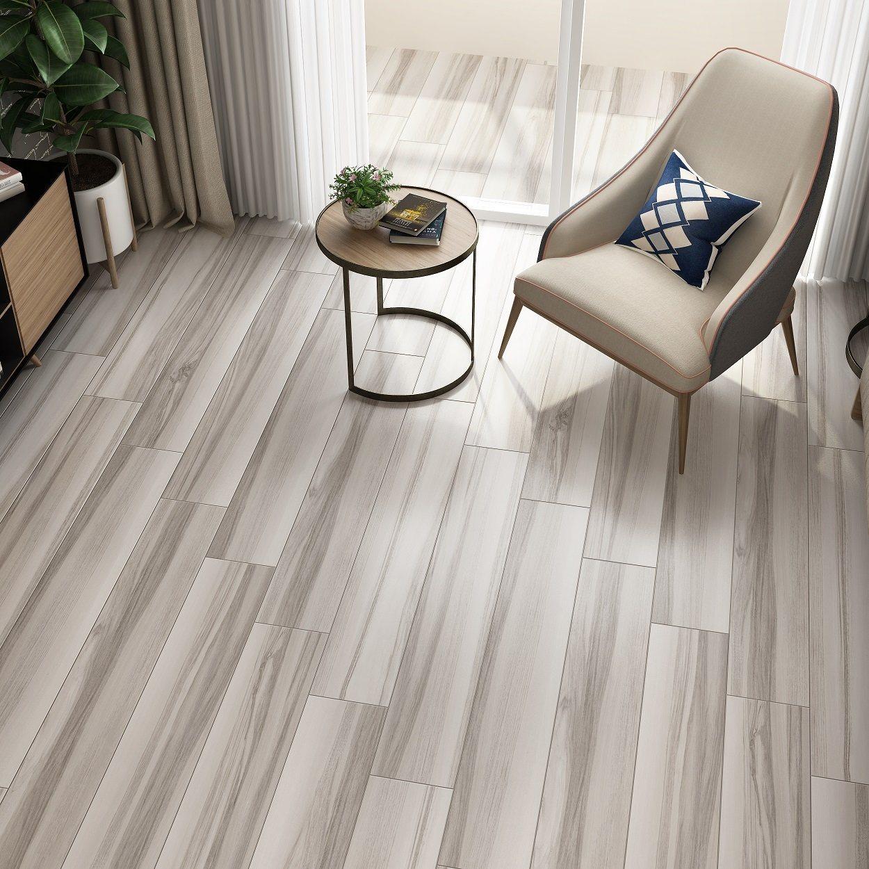 China Porcelain Wood Plank Tile Timber