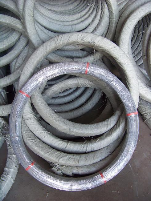2.4*3.0mm Galvanized Oval Steel Wire