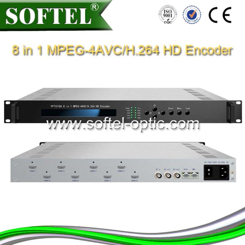 Support H. 264/Avc High Profile Level 4.0 Video Encoding 8 HDMI Encoder