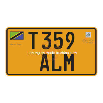 Tanzania License Plate, Security License Plate for Tanzania, License Plate, Car Plate, Number Plate