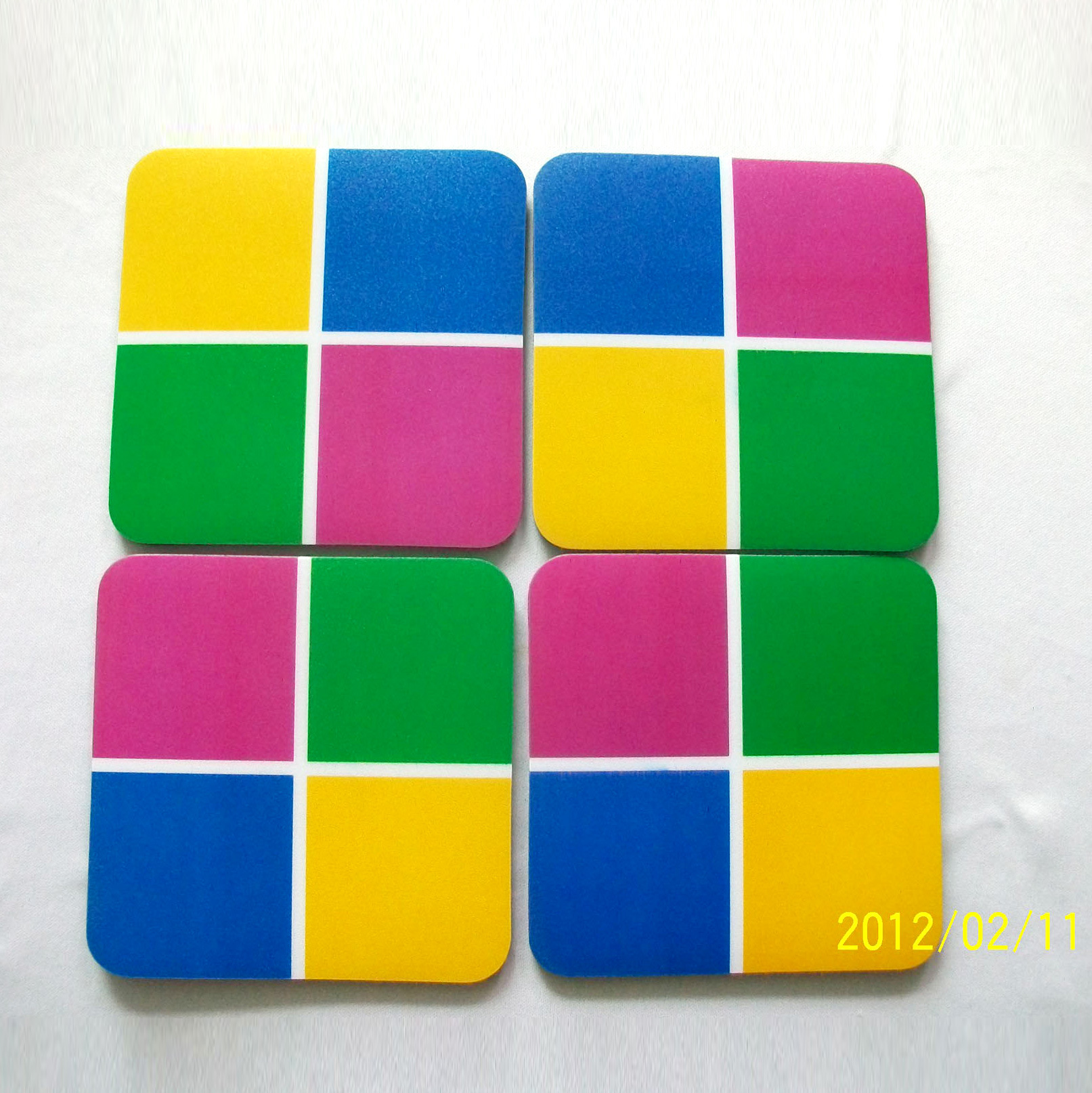 Rectangular Puzzle Coaster with Cheap Price Cost