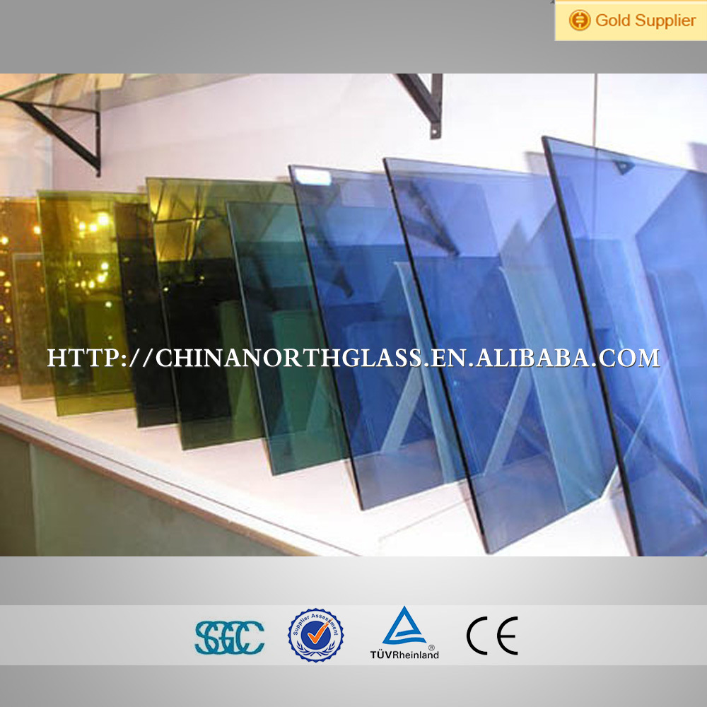 China Hot Sales Soft Coating Low E Film Glass for Building