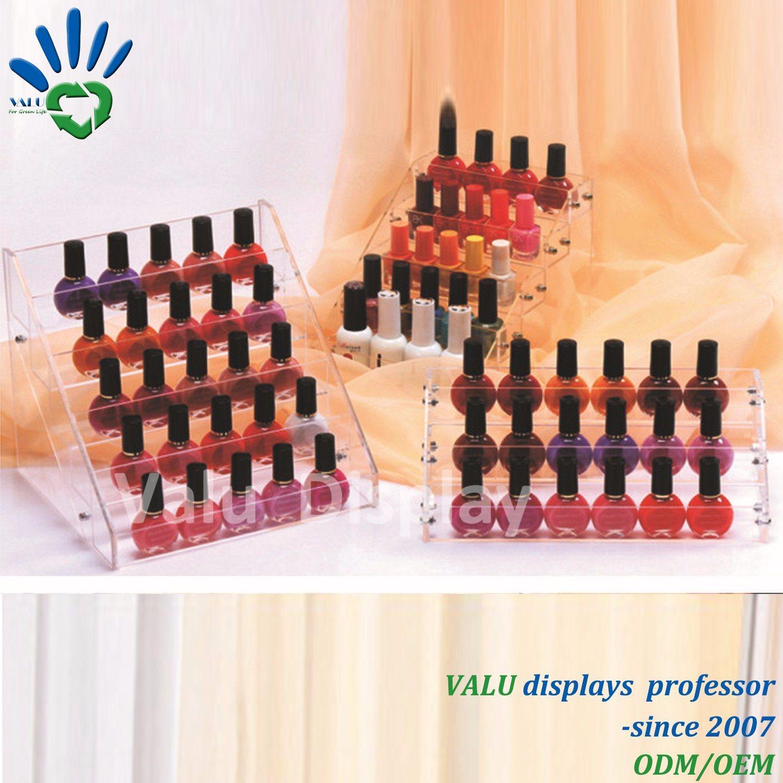 China Acrylic for Nail Polish Lipstick Holder Makeup Storage Box ...