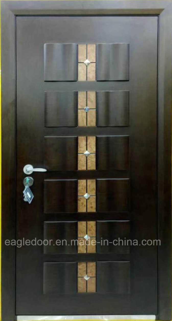 China Top Selling Armored Steel Wooden Door Best Italian Steel