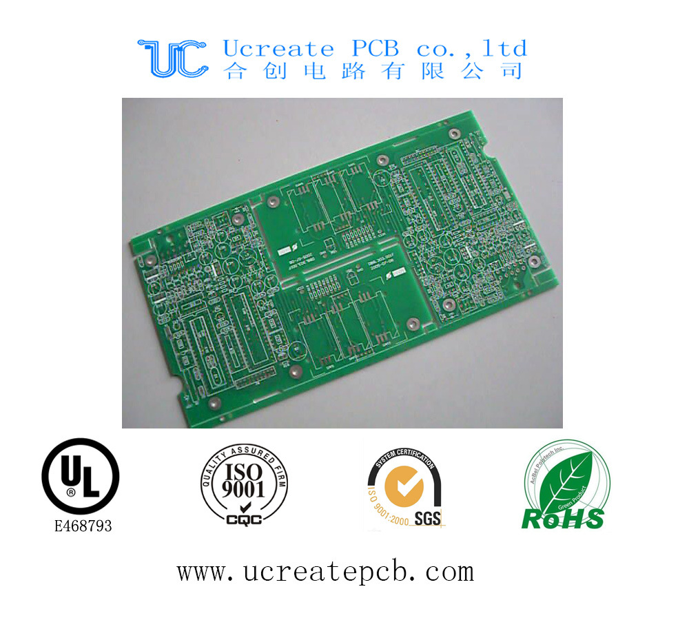 Shenzhen Multilayer PCB Manufacturer with HASL and Gold Finger