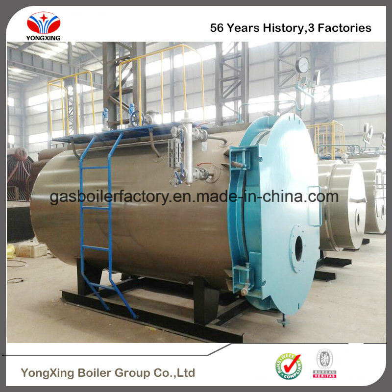 China 1-10 Ton Horizontal Fire Tube Oil Gas Fired Boiler Wns Steam ...