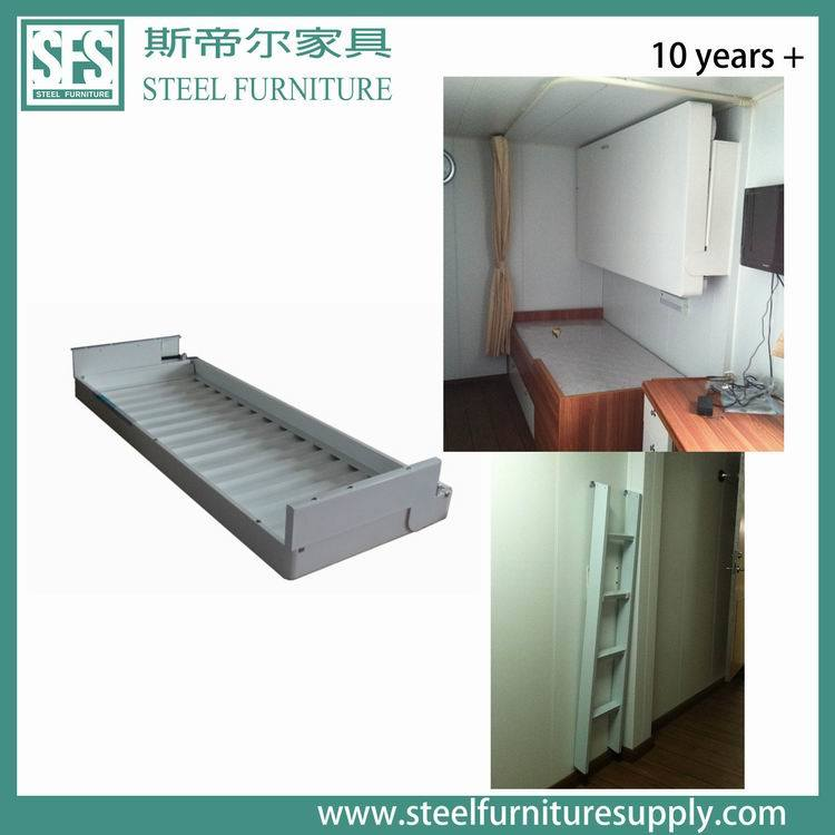 China Marine Pullman Bed Folding Bed For Offshore Ship
