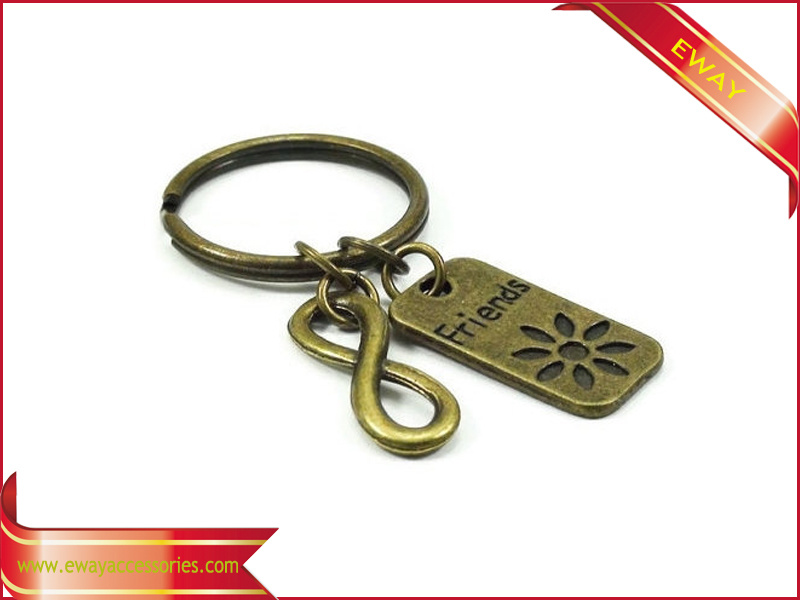 Promotional Fabric Keychain Metal Keychain Rubber Leather Keychain pictures & photos