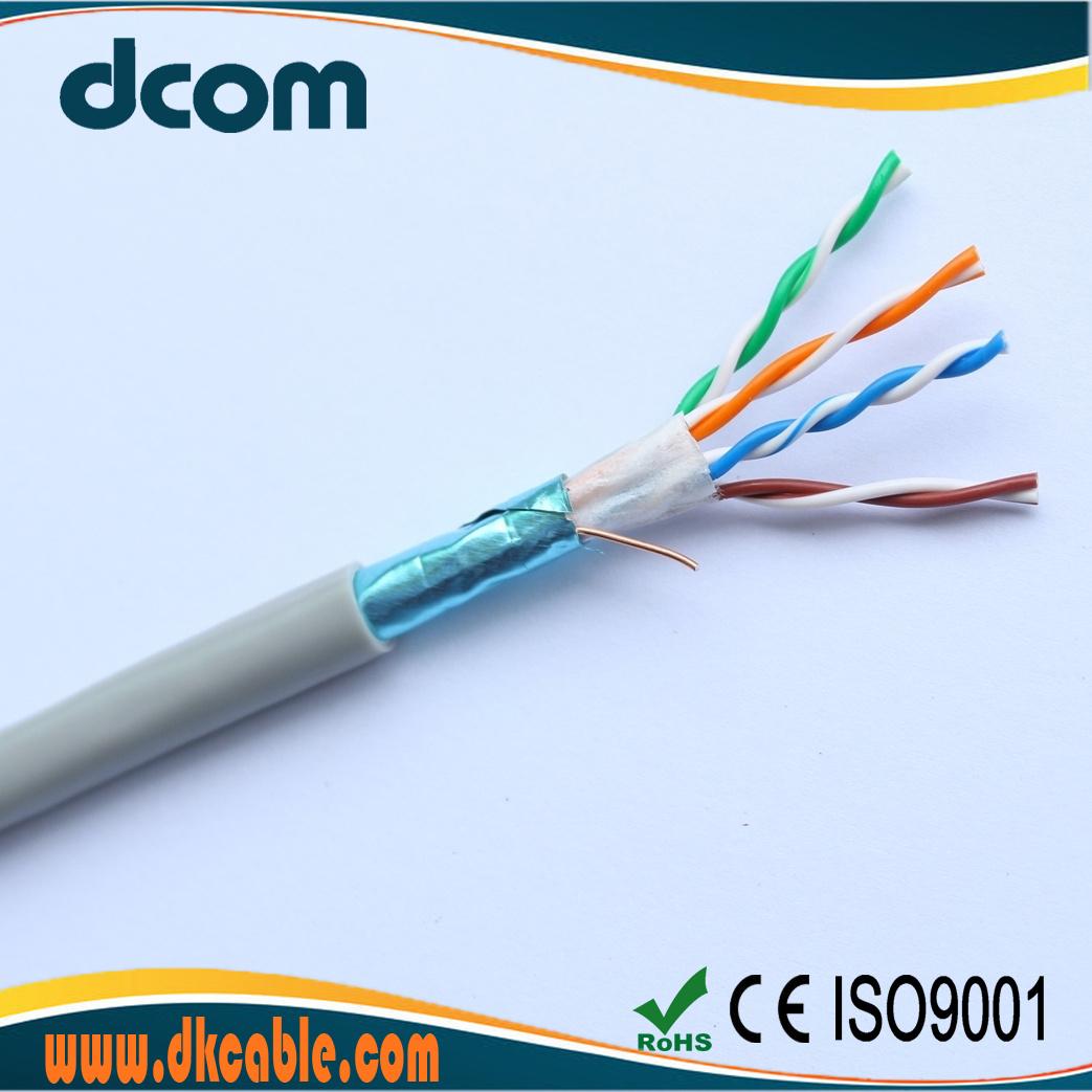 China FTP Cat5e LAN Cables 24AWG Foil Sheild Bare Copper 8cord Twist ...