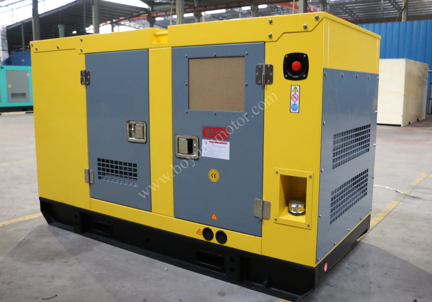 China Cummins Silent Industrial Diesel Engine Generator 600kw / 750kVA -  China Silent Generator, Generator Diesel