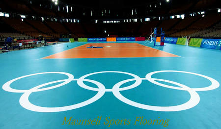 2018 Hot Sale Professional Indoor PVC Volleyball Sports Flooring Made in China pictures & photos