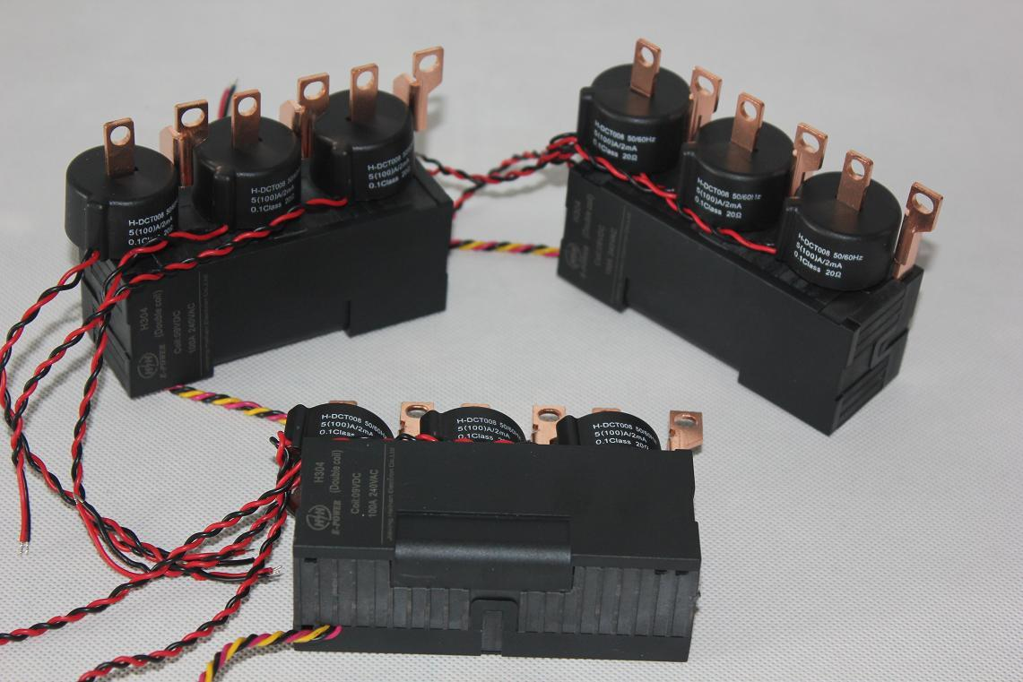 China Three Phase Relay With Current Transformer 100a Solid State Latch Up Latching Magnetic