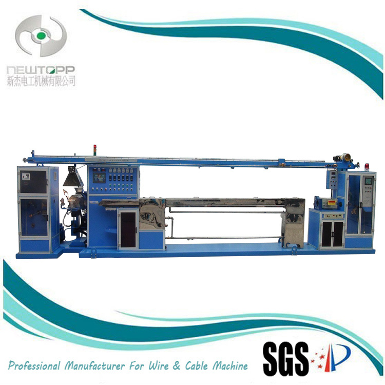 China Teflon Coated Wire/Cable Extruder Machine - China Extruder ...