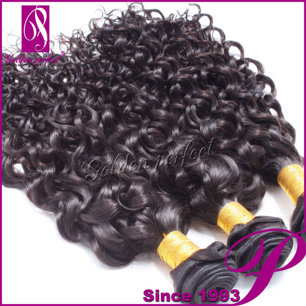 China Natural Blonde Curly Human Hair Extensions Cheap Hair In