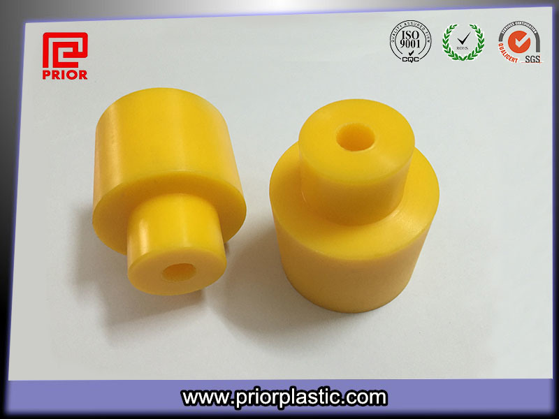 Yellow UV Resistant HDPE Roller for Outdoor Use