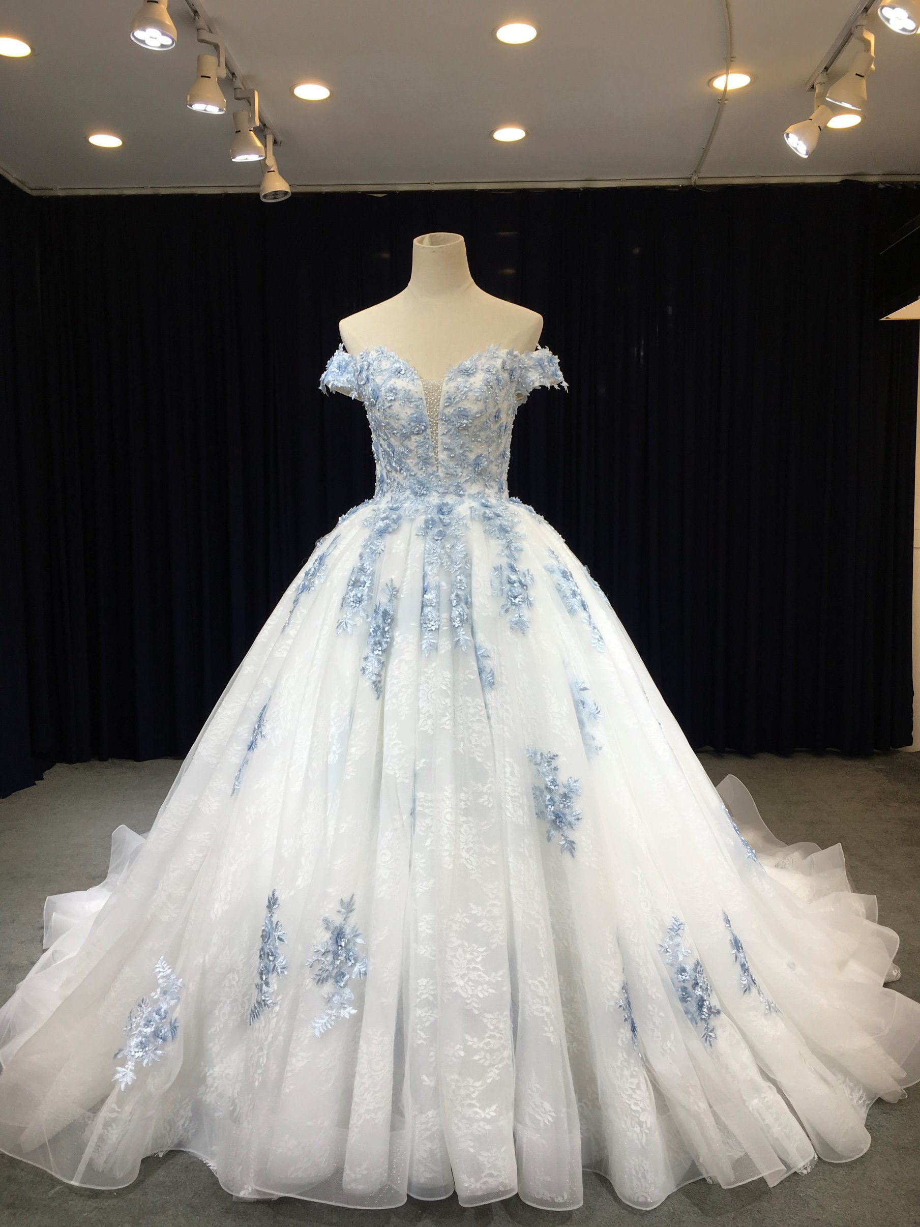 China Bride To Be Princess Dream Wedding Dress Party Gown