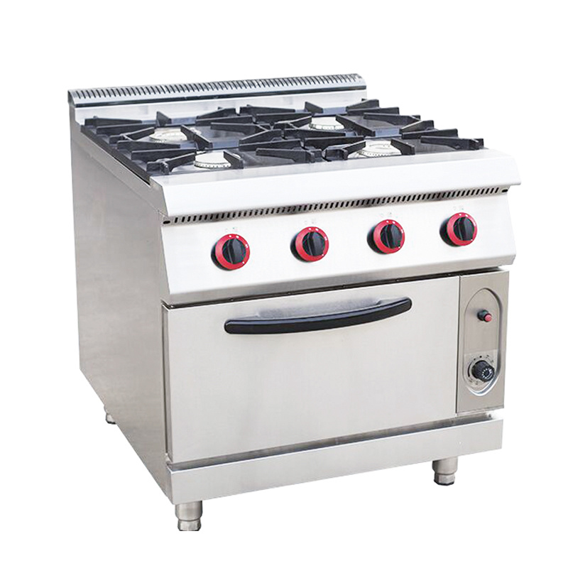 [Hot Item] 4-Burner Gas Range with Gas Oven for Kitchen