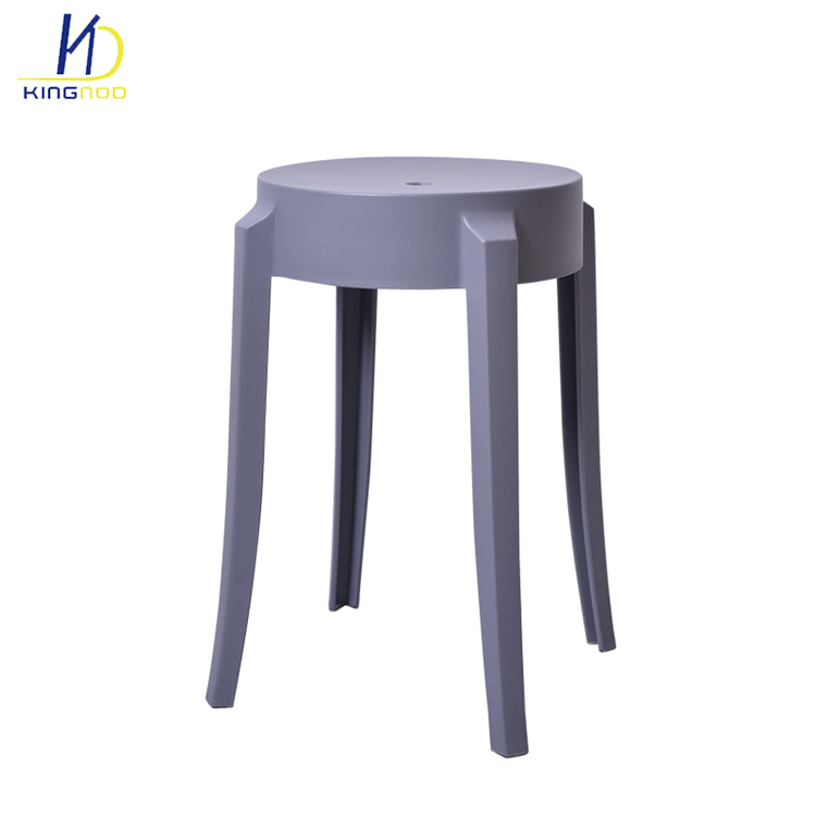 China Wholesale Home Decor Small Stool Stacking Plastic Living Room ...
