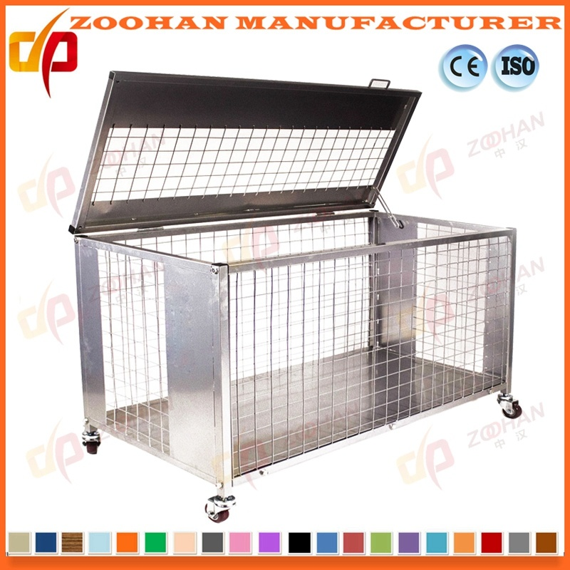 China Industrial Stackable Galvanized Steel Storage Container Wire ...