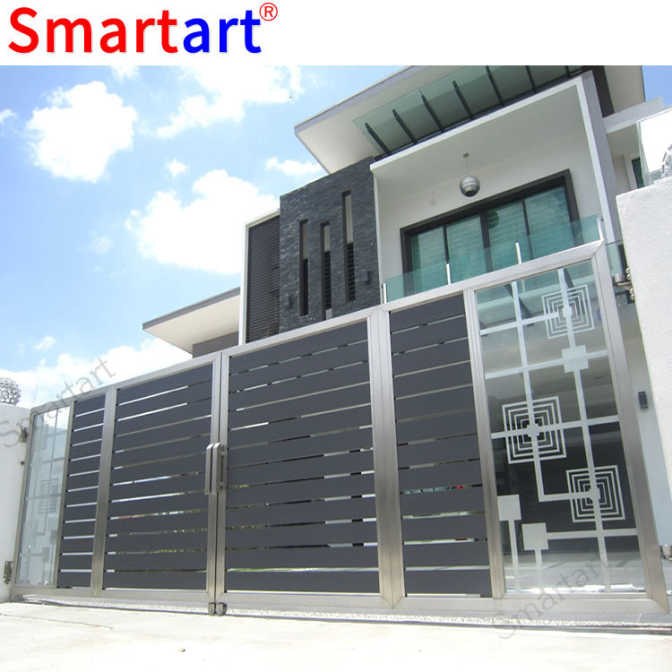 China House Main Iron Gate Designs / Steel Gate Design
