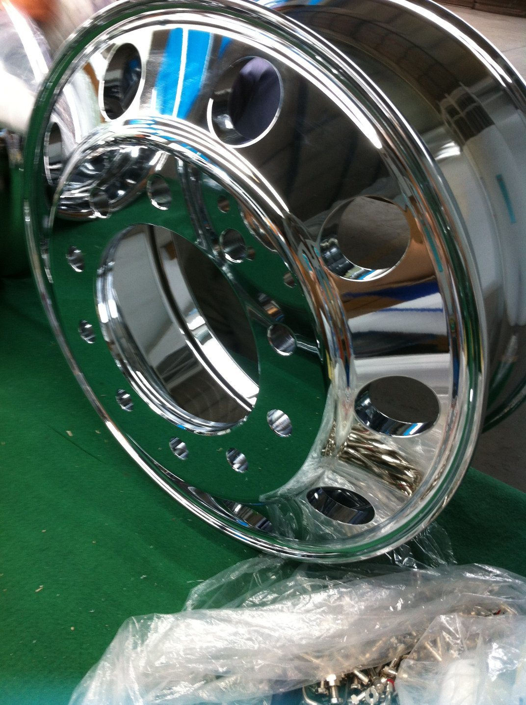 China Truck Trailer Polishing Aluminum Wheels 22 5x9 0 China Aluminum Wheels Aluminum Wheels Polish